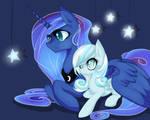 Luna and Snowdrop