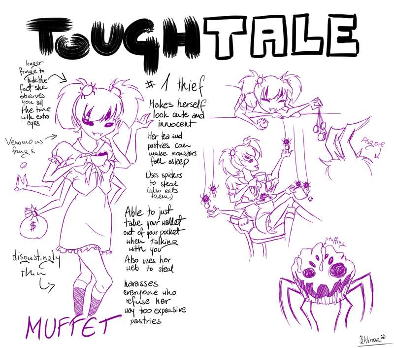 Toughtale! Muffet by Hiroe96