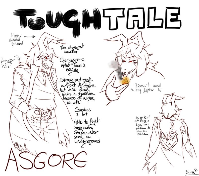 Toughtale! Asgore by Hiroe96