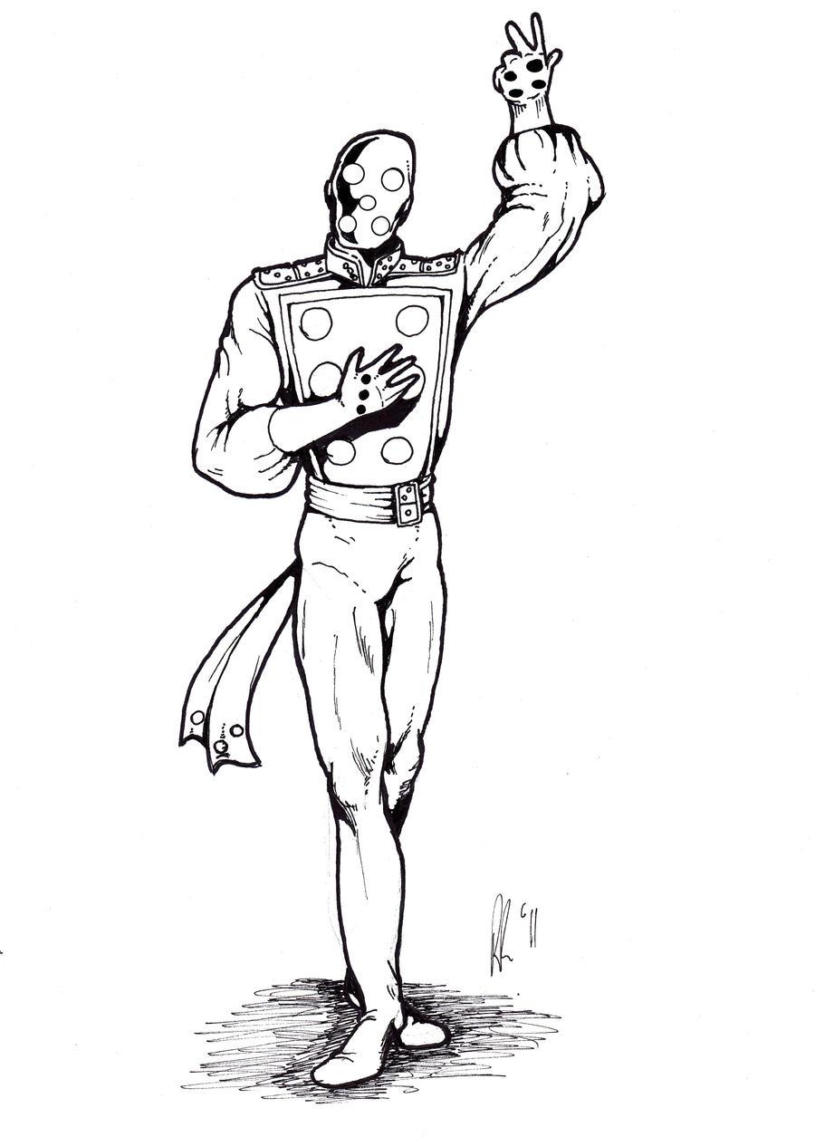 Doctor Domino by Pol-Rua