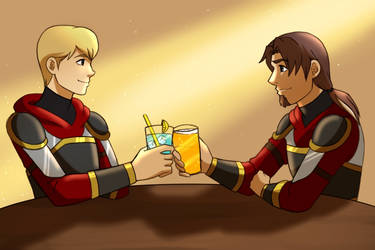 A Toast by AliciaMuhm