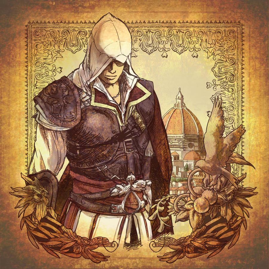 Ezio by Hinoe-0