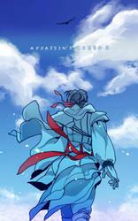 Blue sky by Hinoe-0
