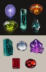 Precious stones by Hinoe-0