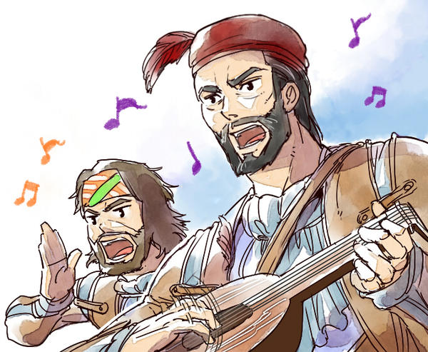 Bard song by Hinoe-0