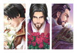 Ezio and Flowers