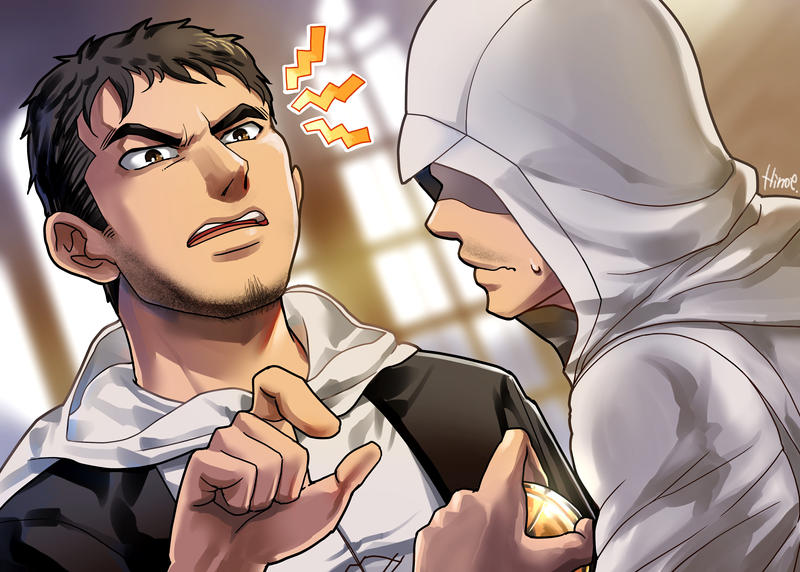 Altair and Malik by Hinoe-0