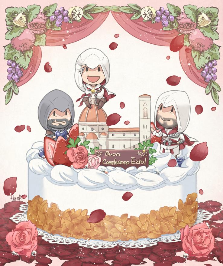Happy Birthday Ezio! by Hinoe-0