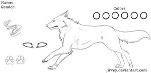 Canine Lineart
