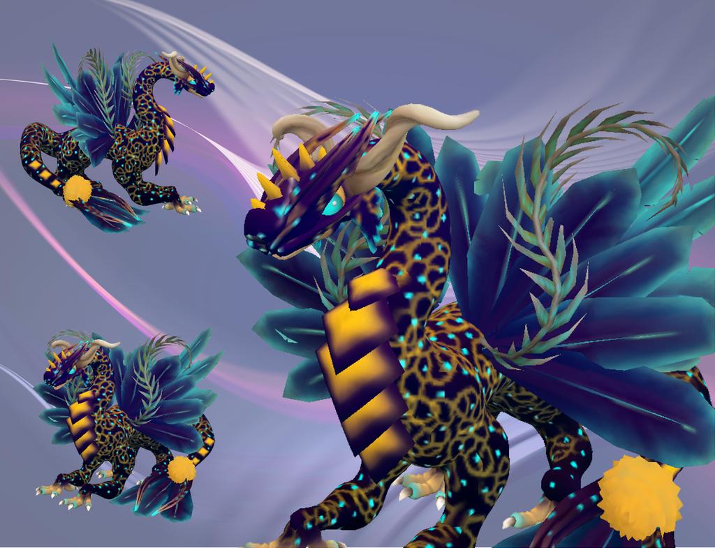 Samile the Resplendent Dragon by Elycian