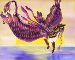 The Majesty of Flight by Elycian