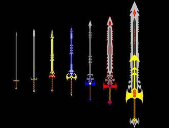 Swords by Kazayo