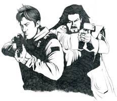 Stargate Atlantis Team-up by willdigc