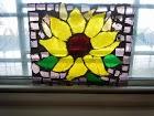 SunFlower StainedGlass by AngelAmethyst