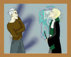Maximoff vs. Malfoy by miraxterrik