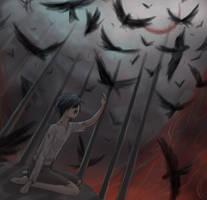 Black Birds by Erulisse2