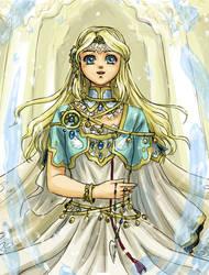 la petite priestess by Erulisse2