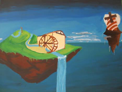 WIP: Steampunk Watermill W7
