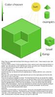 Isometric shading tutorial