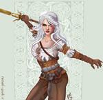 Witcher 3 fan art2 Ciri