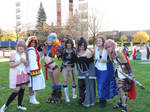 Another Anime Con 2012 - Girls of Final Fantasy 3 by VideoGameStupid