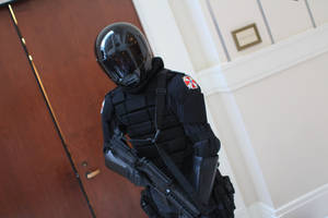 Katsucon 2014 - Umbrella Soldier by VideoGameStupid