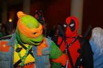 Anime Boston 2014 - Mikey and Deadpool