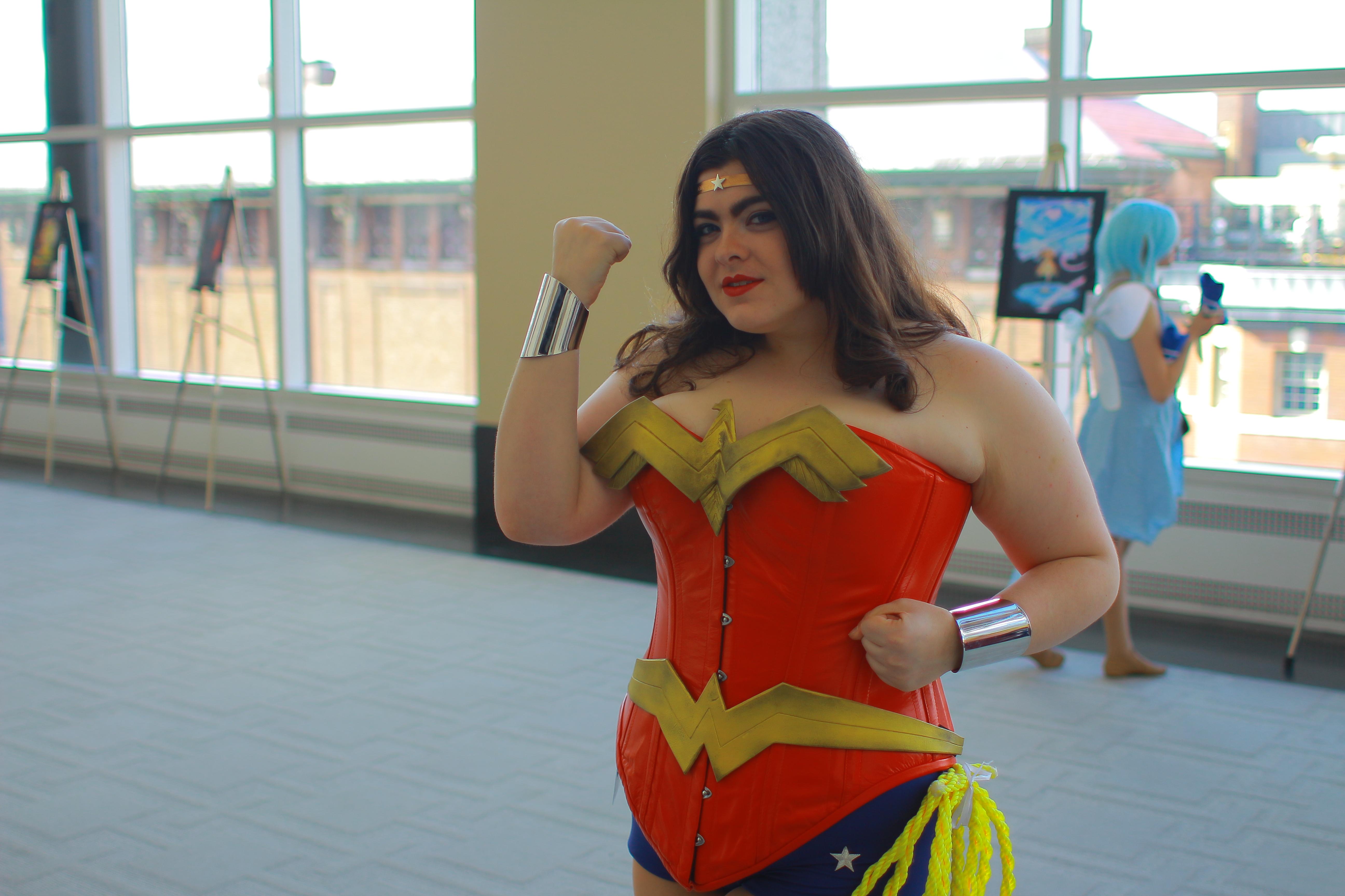 Anime Boston 2014 - Wonder Woman by VideoGameStupid