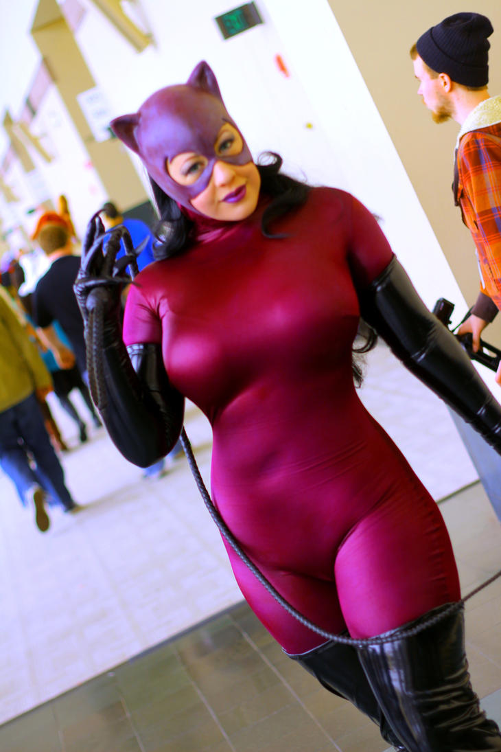 Anime Boston 2014 - Catwoman(EDIT) by VideoGameStupid