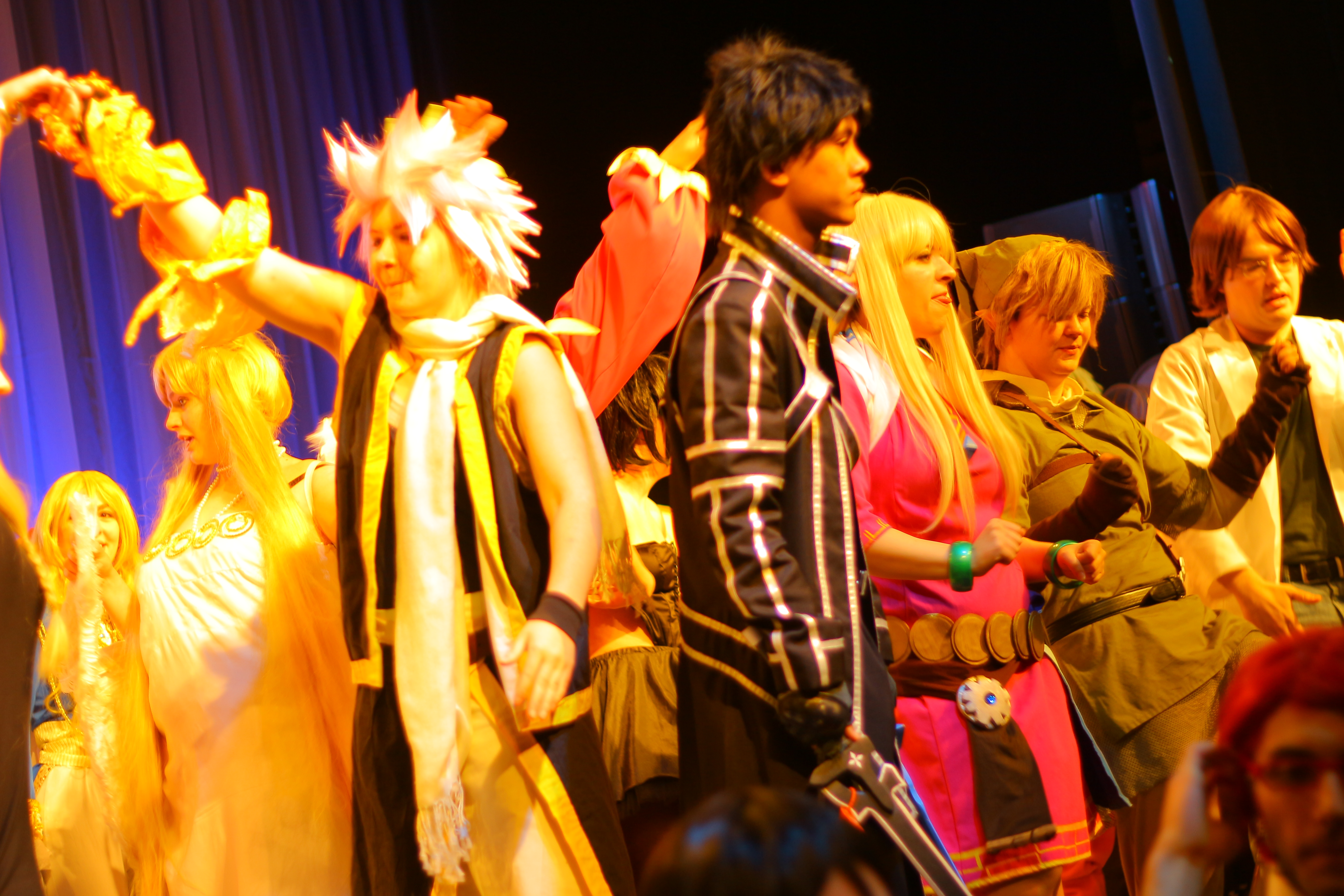 Anime Boston 2014 - Cosplay Chess Randomness 4 by VideoGameStupid