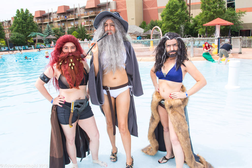 ColossalCon 2016 - Lord of the Bikinis by VideoGameStupid