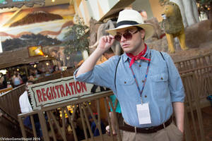 ColossalCon 2016 - Dr. Alan Grant by VideoGameStupid