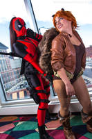 MASSive Comic Con 2017 - Lady Deadpool(PS) 17 by VideoGameStupid