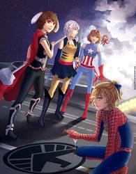 mightiest heroes of gensokyo by im-promptu