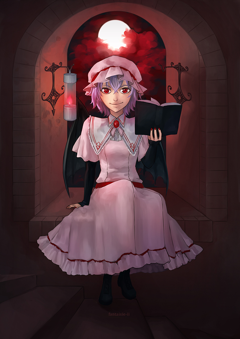 remilia scarlet by im-promptu