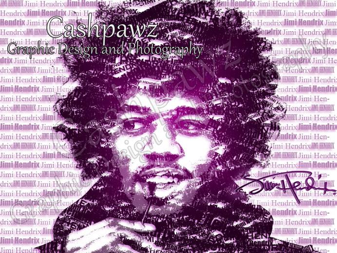 Jimi Poster by Cashpawz