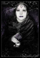 nyx, goddess of night by khisanth