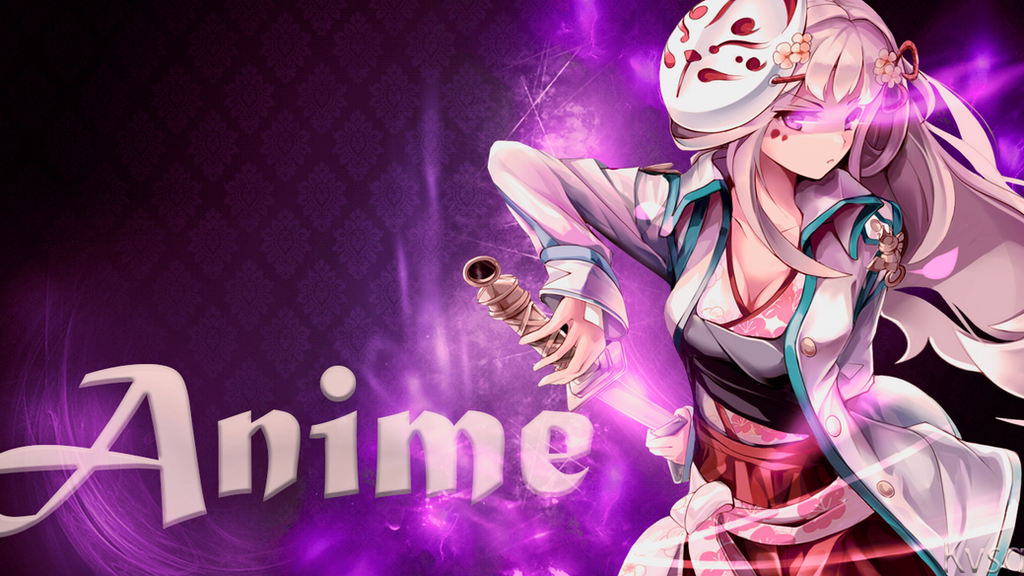 Anime Girl Wallpaper  By Kvsgeditor