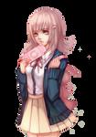 Nanami Chiaki Render