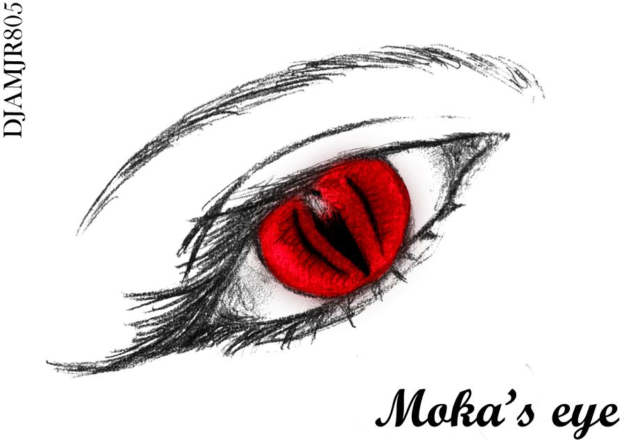 Vampire Anime Eyes Moka's Eye ...