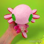 PINKY the 5-inch Axolotl