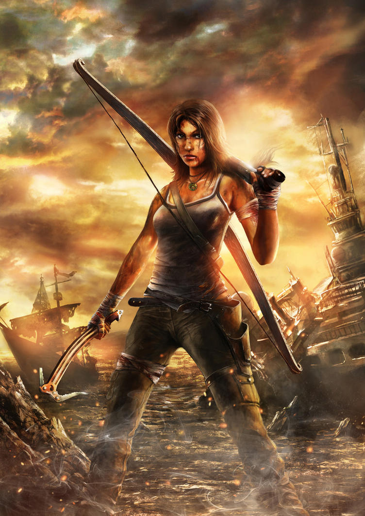 Lara is back by CyrilT