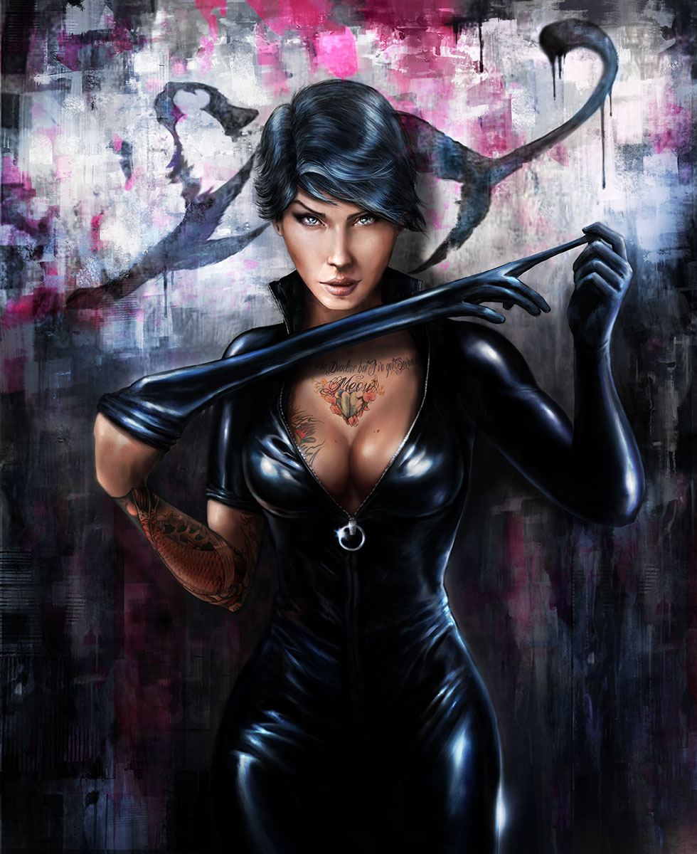 CATWOMAN by CyrilT