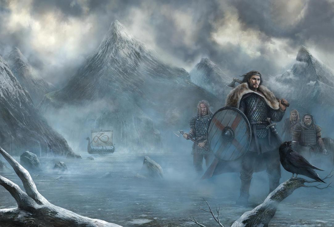 Yggdrasill  Hrolf Kraki by CyrilT