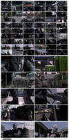 Heat speedpainting  - movie studies by CyrilT