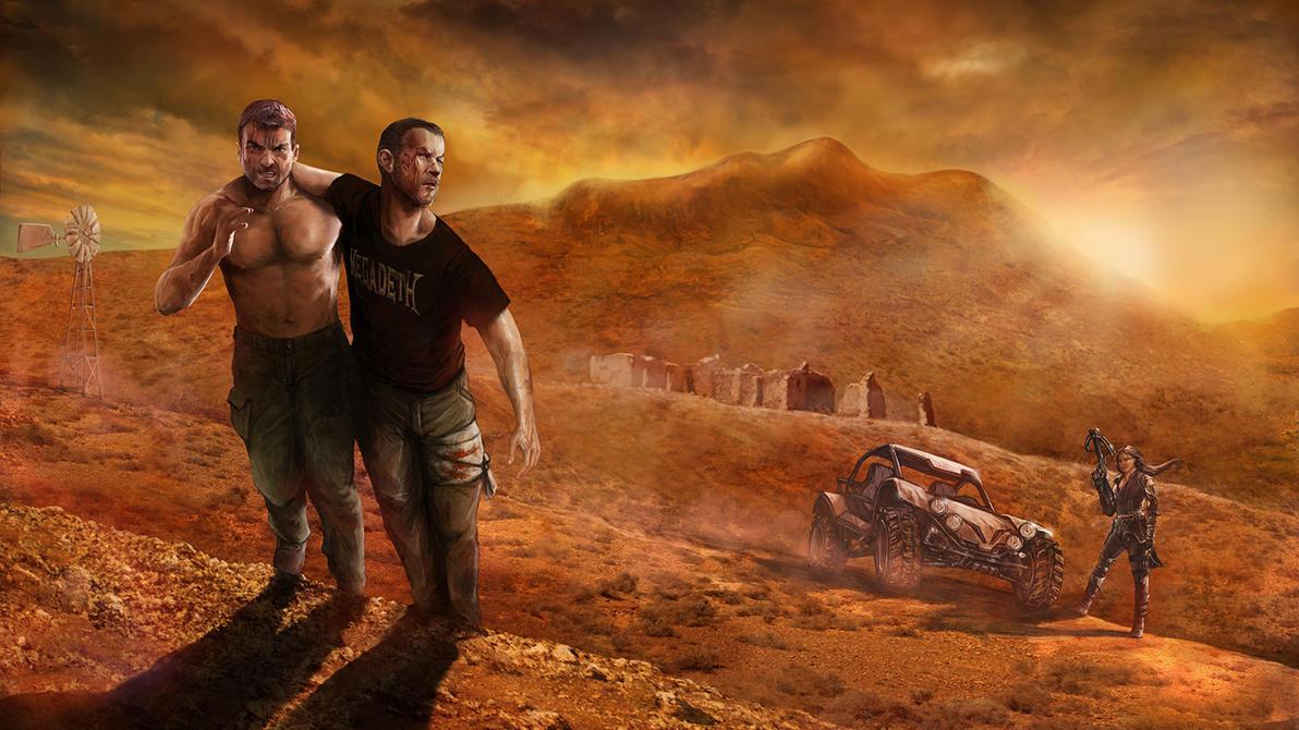 Les Ruines de Tindaya / movie artwork by CyrilT