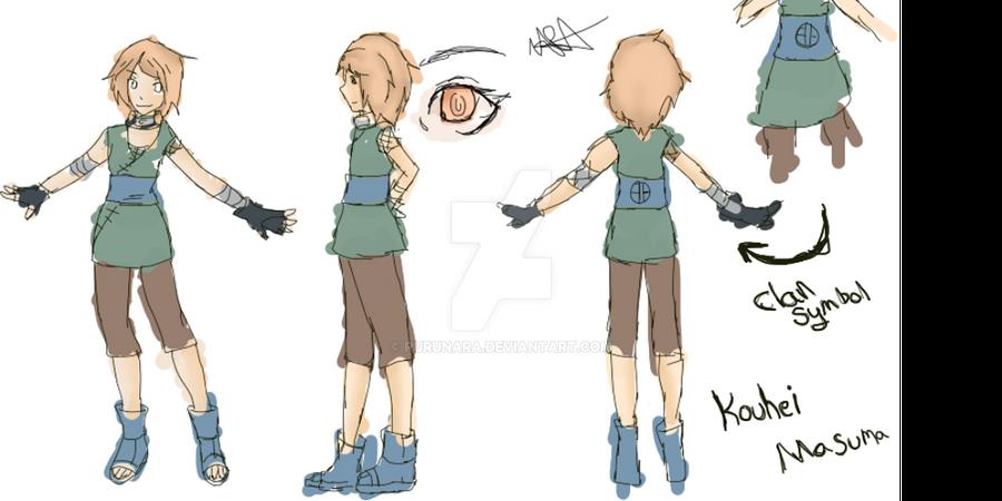 ::Naruto:: Kouhei Masuma Concept Art by RuruNara