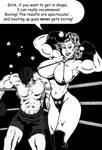 Boxing Babe Jessy - From Jessy With Love