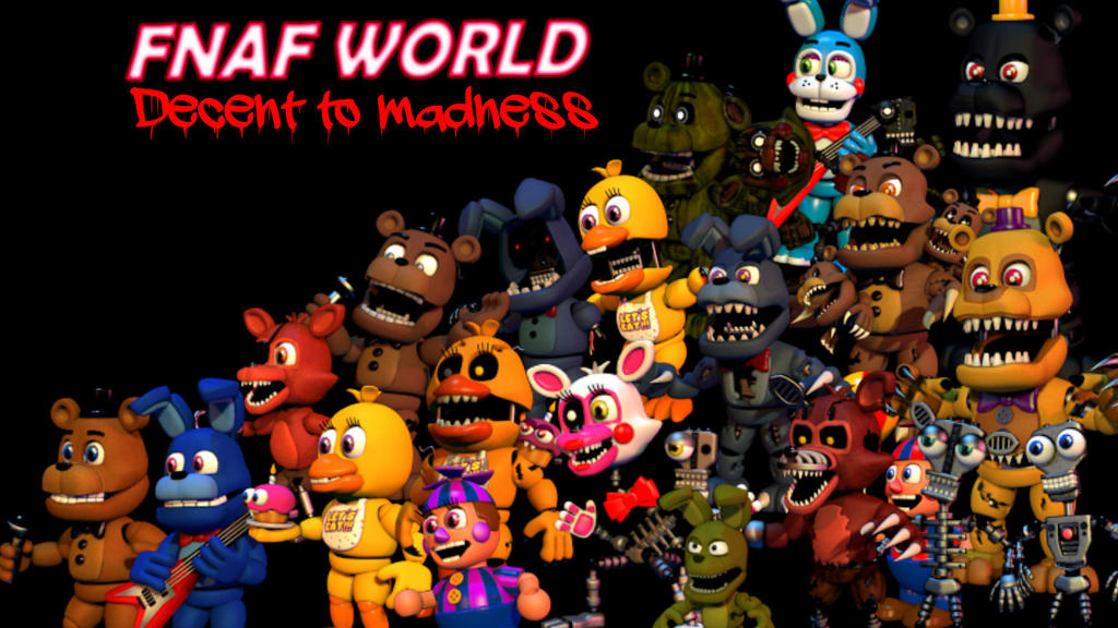 fnaf world how to get fixed party update 2