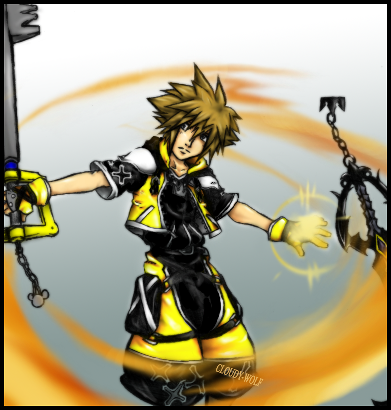 Sora Master Form by Cloudy-wolf on DeviantArt